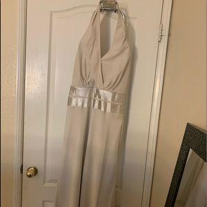 Midi halter dress